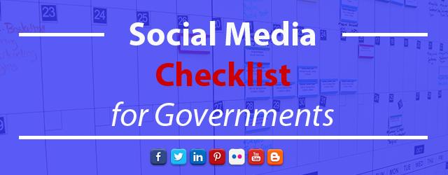 checklist governments